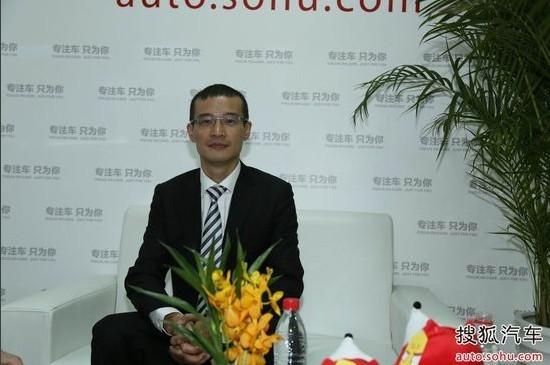 东风日产市场部部长 熊毅