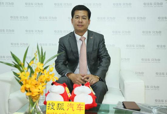 广汽吉奥汽车有限公司销售公司副总经理品牌总监 曾业辉