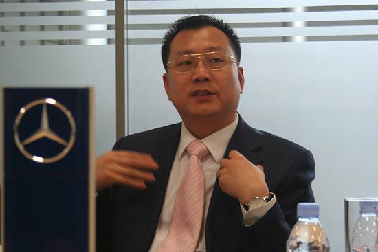 北京梅赛德斯-奔驰销售服务有限公司高级执行副总裁 李宏鹏