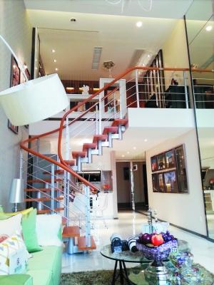 奥园城市天地loft公寓样板房.