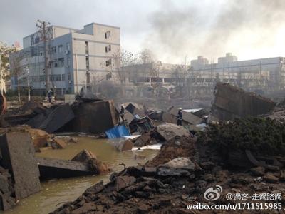 博兴焦炭厂爆炸事件_中石化输油管发生破裂 维修过程中发生爆炸(图)-搜狐青岛