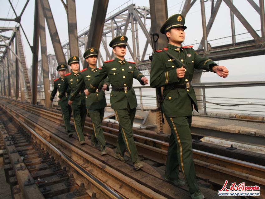 八中队即将退伍老兵,在退役之际举行