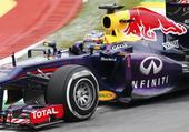 图文:F1巴西大奖赛正赛 维特尔比赛中特写
