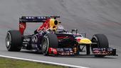 图文:F1巴西大奖赛正赛 维特尔在比赛中