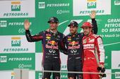 图文:F1巴西大奖赛正赛 维泰尔韦伯与阿隆索