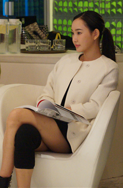 童菲现身《最美》发布会 谈对于时间与爱的感悟