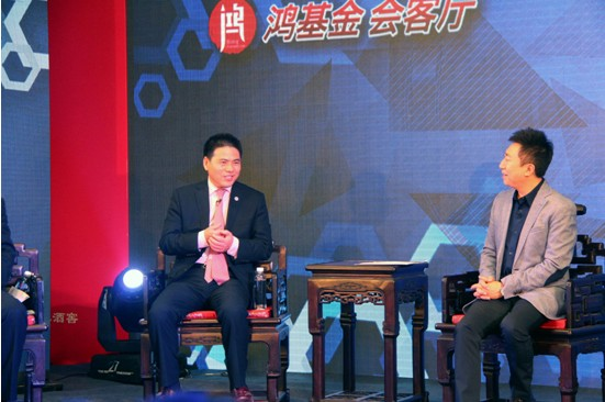 远东控股集团董事局主席,远东慈善基金会理事蒋锡培与鸿基金发起人