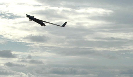 巴基斯坦首次装备国产无人机 (图片来源:俄罗斯之声网站)
