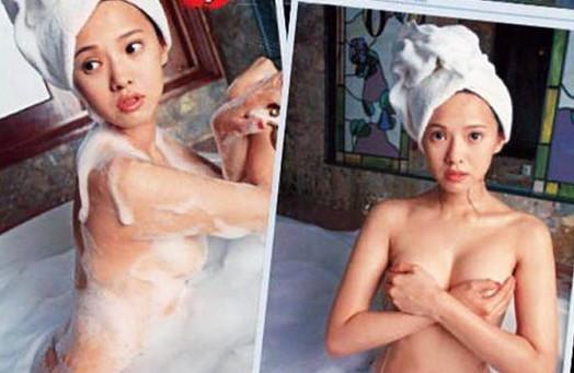 女生儿童浴照