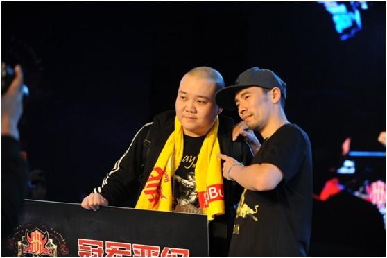 单项popping冠军杨敬林