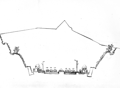 路堑形式:施工简单造价低隧道形式:生态环境破坏小(组图)图片