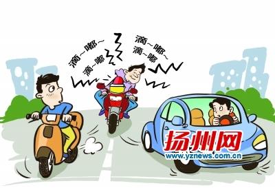 """一些摩托车和电动车""""改装"""" 摩托车装成""""救护车"""""""
