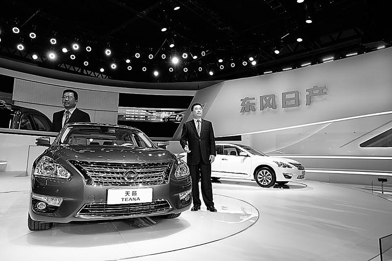 新世代天籁·公爵全球首发上市-广州车展 星 光耀世 上图片