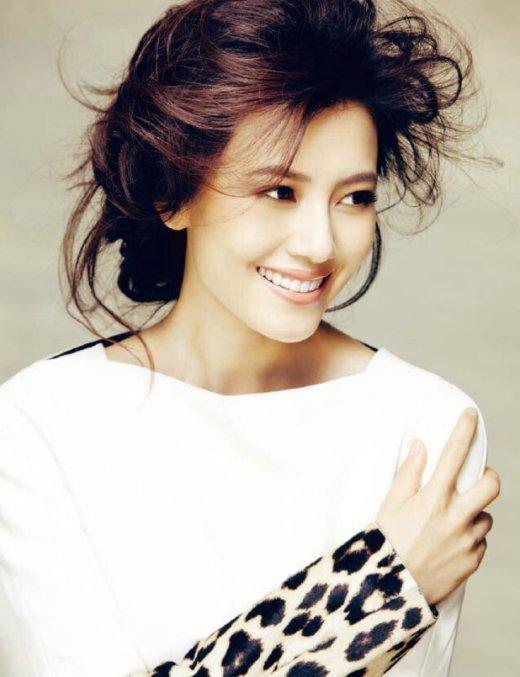 高圆圆刘亦菲佟丽娅 盘点顶级美颜容貌的女星(组图)