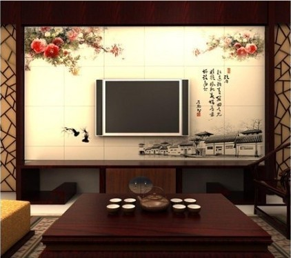 10款高大上中国风背景墙 古典而不古板(组图)