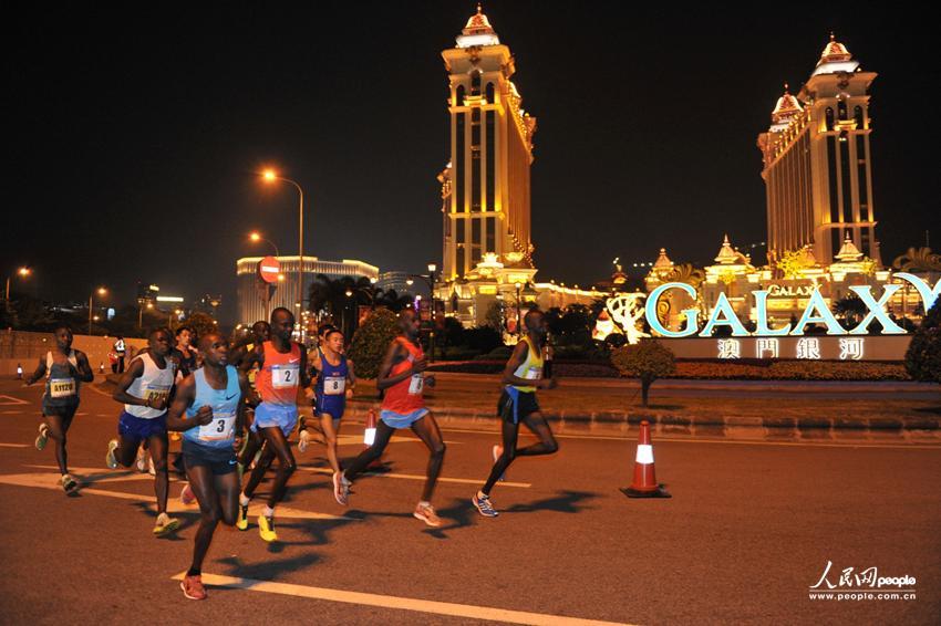2013澳门银河娱乐国际马拉松圆满结束(图)