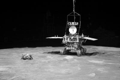嫦娥三号月球车示意图。新华社发