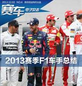 赛车电子杂志第四期 2013赛季F1车手总结