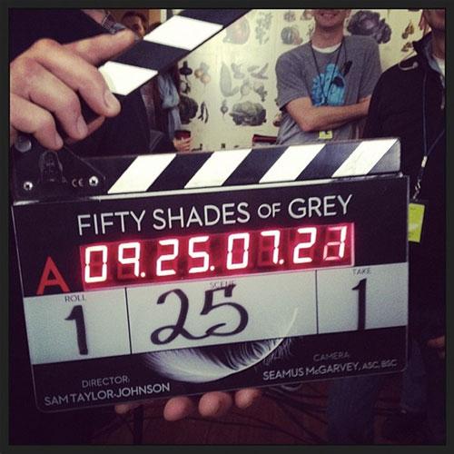 《五十度灰》正式开拍