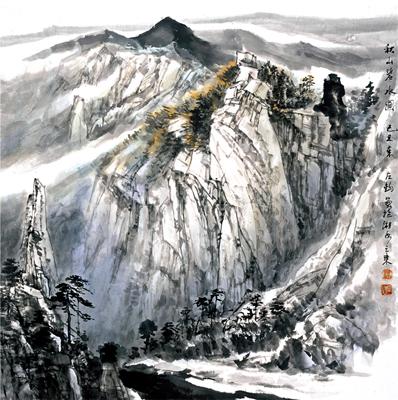 刘左钧 冯远——中国书画名家作品鉴赏(组图)图片