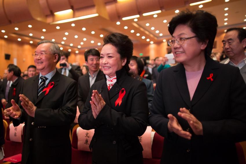 2013年艾滋病宣传日_彭丽媛参与2013年世界艾滋病日主题宣传活动(组图)-搜狐滚动