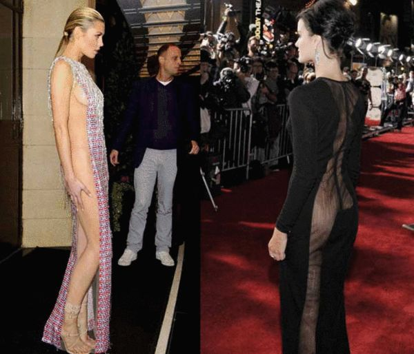 时尚圈刮露臀风 穿礼服真空很必要 搜狐女人