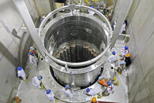三门核电1号机组堆内构件开始安装(图)图片