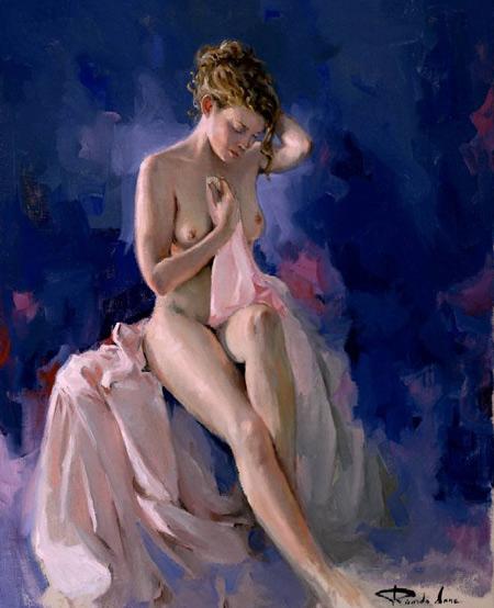 西班牙画家里卡多桑斯油画作品欣赏 组图