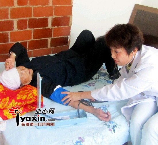 家庭医生 新疆昌吉 居民/医疗服务新模式惠及百姓。