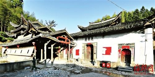 杨源村 千年/村中历史悠久的英节庙