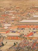 紫禁城里的新年家宴 只能一名男性参加