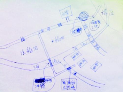 28岁小伙5岁时曾被拐卖 凭记忆画地图寻亲(图