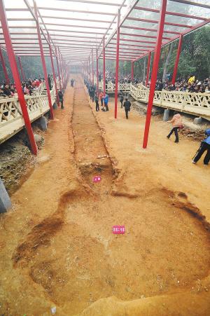 恩施州考古开掘现场_考古现场维护资料_考古开掘现场维护