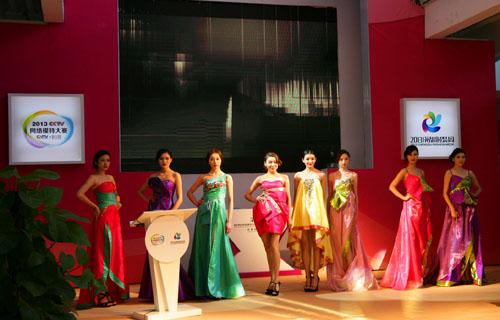 2013cctv网络模特大赛总决赛发布会在京举行