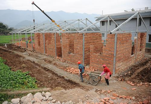 芦山县213套农村特殊困难群众保障房本月底完