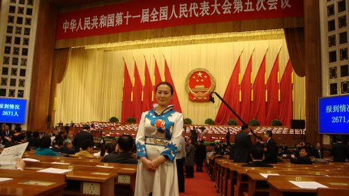赫哲族全国人大代表 边防警嫂刘蕾 赫哲家园是我永远的牵...