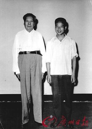 毛泽东和吴连登