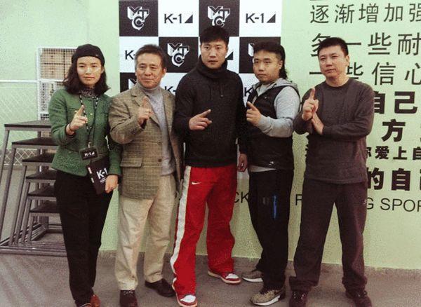 K-1北京训练营正式成立 杨燕姬:派外籍团队执教