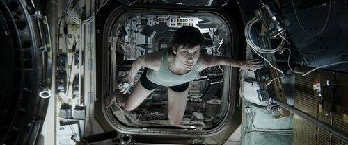 《地心引力》中的桑德拉-布洛克