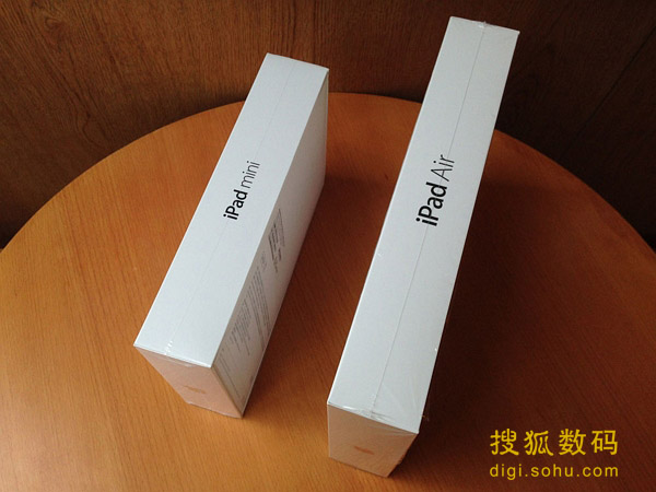3G版iPad mini 2和iPad Air开箱组图-中国联通