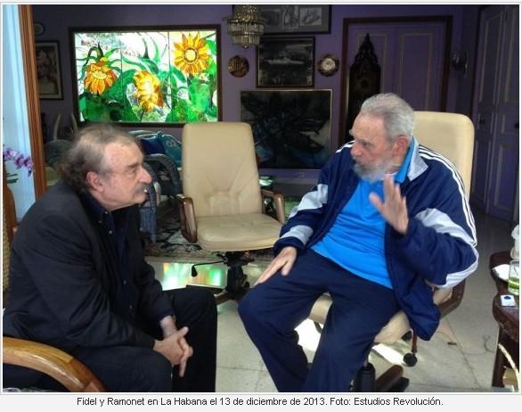 古巴革命领导人菲德尔・卡斯特罗再度公开露面