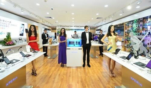 领跑4G 索尼智能手机旗舰店开业耀羊城(组图)