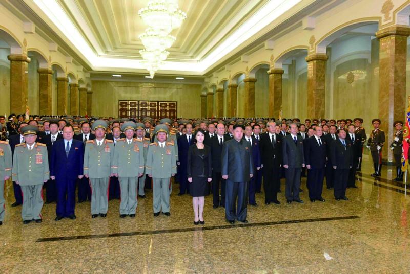 朝鲜悼念金正日逝世两周年(图)