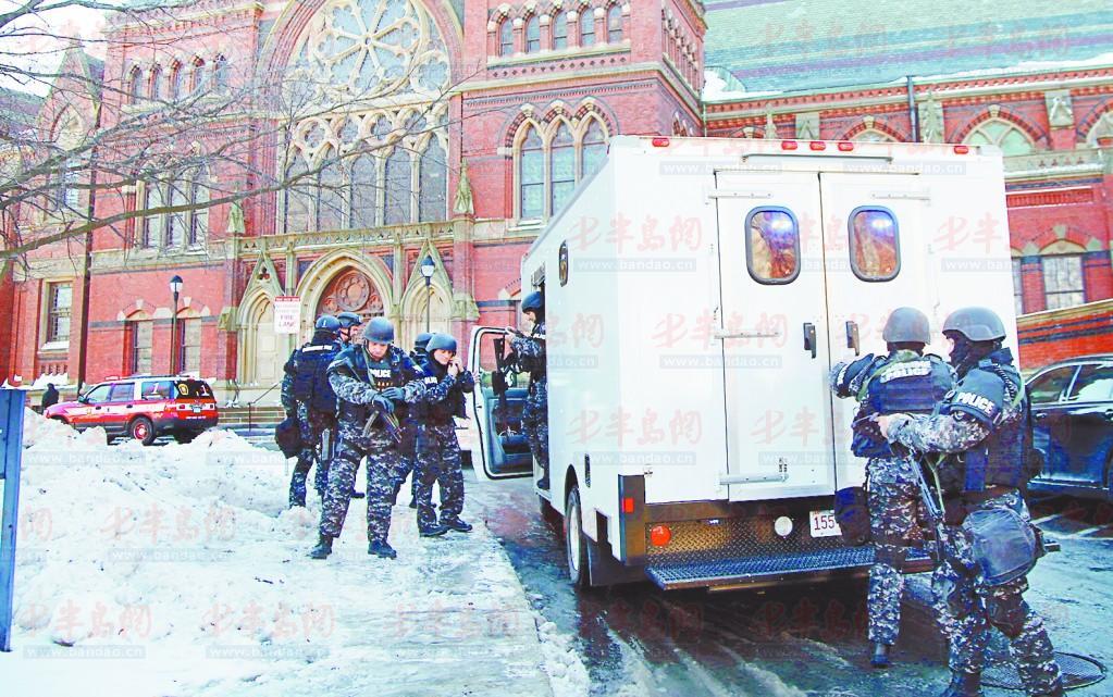 16日上午,哈佛大学警方接到报案称,校内一栋宿舍楼,两栋教学楼和一图片