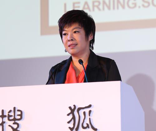 著名文化学者、北京师范大学教授 于丹女士