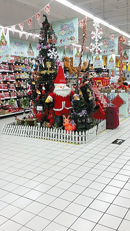圣誕將至超市節味兒濃 圖