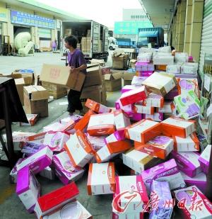 东莞城市配送物流基础设施初具规模。记者石忠情 摄
