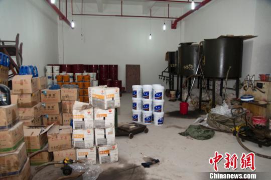 图为防伪标识。 重庆北碚警方供图 摄