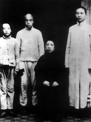 毛泽东和他的母亲