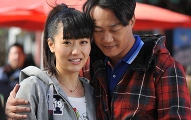 和陈奕迅合作电影《隐婚男女》